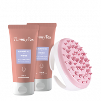 2x Slimming Gel + FREE Massager