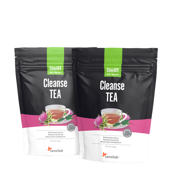 Cleanse TEA 1+1 ZDARMA