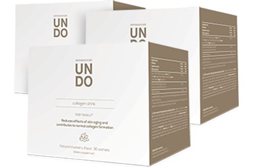 3x UNDO Collagen Drink
