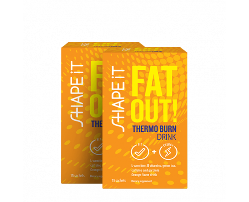 Fat Out! Thermo Burn Drink : 1+1 OFFERT