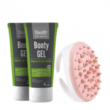 Complete Anti-Cellulite Bundle: 2x Booty GEL + FREE Massager!