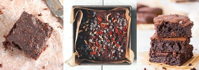 4 delicious healthy & protein-packed brownie recipes