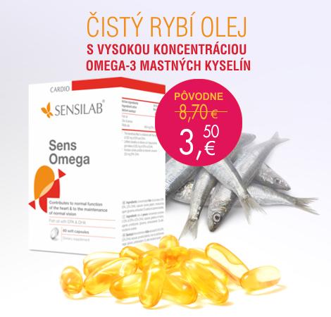 rybí olej s obsahom omega-3 mastných kyselín