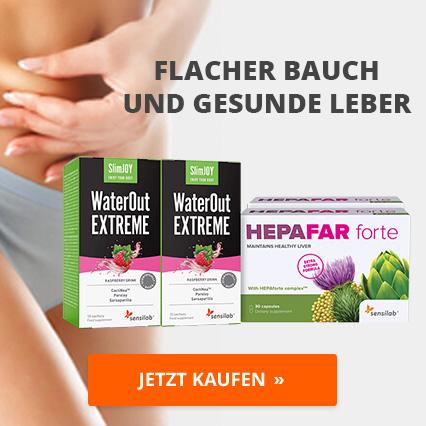 Flacher Bauch und gesunde Leber