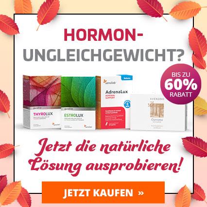 Ausgeglichener Hormonhaushalt